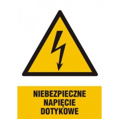 Niebezpieczne napięcie dotykowe