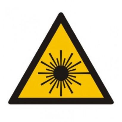 Ostrzeżenie przed promieniami laserowymi