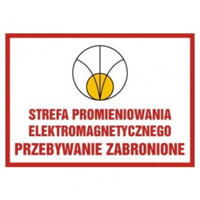 Strefa promieniowania elektromagnetycznego.