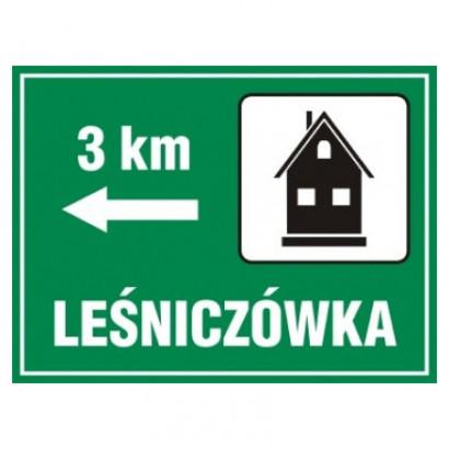 Lesniczówka - odległość