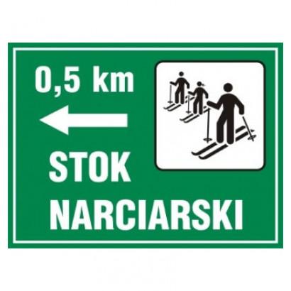 Kierunek na stok narciarski