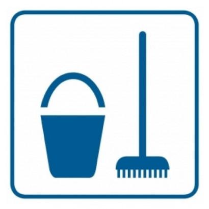 Znak - Miejsce na środki czystości RA048