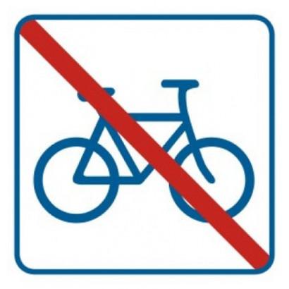 Znak - Zakaz dla rowerów RA518