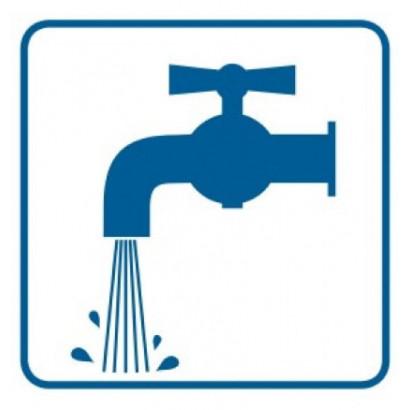Znak - Punkt czerpalny wody RA122