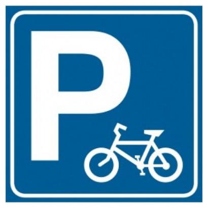Znak - Parking dla rowerów RA124