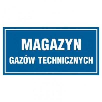 Magazyn gazów technicznych