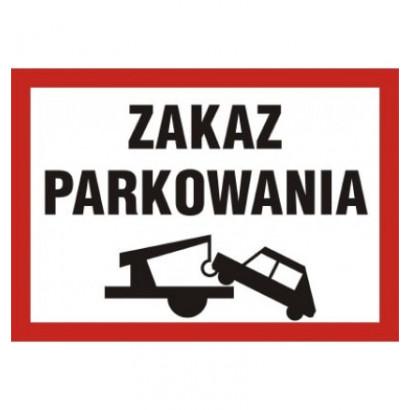 Zakaz parkowania