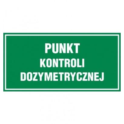 Punkt kontroli dozymetrycznej
