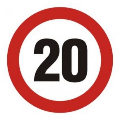 Ograniczenie prędkości 20
