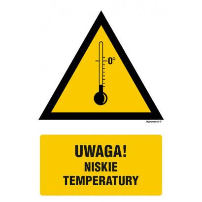Ostrzeżenie przed niskimi temperaturami