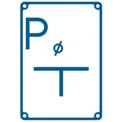 Tablica orientacyjna punktu pomiarowego