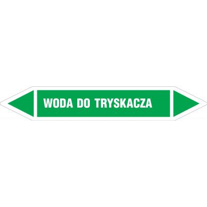 WODA DO TRYSKACZA