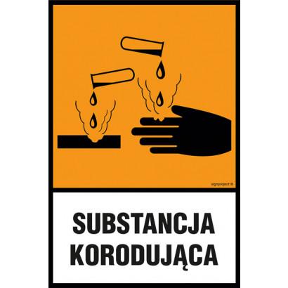 Substancja korodująca