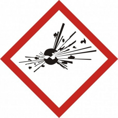 Produkt wybuchowy - GHS01