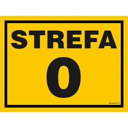 Znak - Strefa 0 NB001