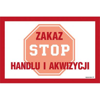 Zakaz handlu i akwizycji