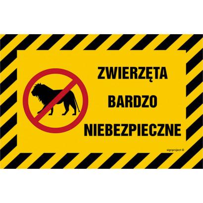 Zwierzęta bardzo niebezpieczne