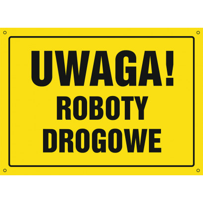 Uwaga! Roboty drogowe