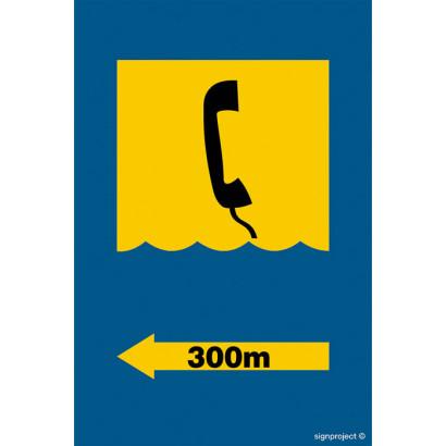 Telefon 300m