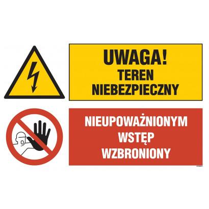 Uwaga! teren niebezpieczny, Nieupoważnionym wstęp wzbroniony