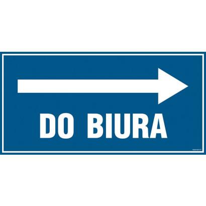 Do biura - kierunek w prawo