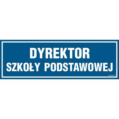 Znak - Dyrektor szkoły podstawowej PA145