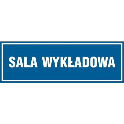 Znak - Sala wykładowa PA162