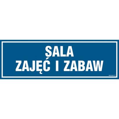 Znak - Sala zajęć i zabaw PA164