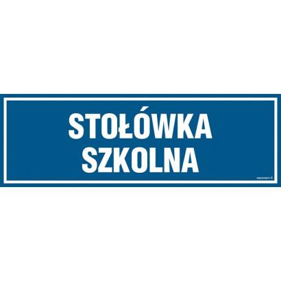 Znak - Stołówka szkolna PA165