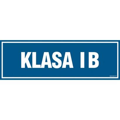 Znak - Klasa 1B PA169
