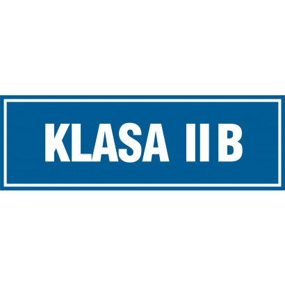 Znak - Klasa 2B PA171