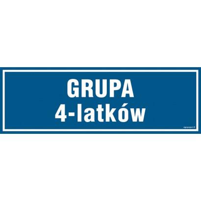 Znak - Grupa 4 latków PA188
