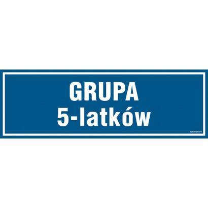 Znak - Grupa 5 latków PA189