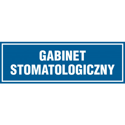Znak - Gabinet stomatologiczny PA197