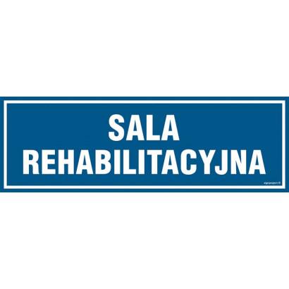 Znak - Sala rehabilitacyjna PA200