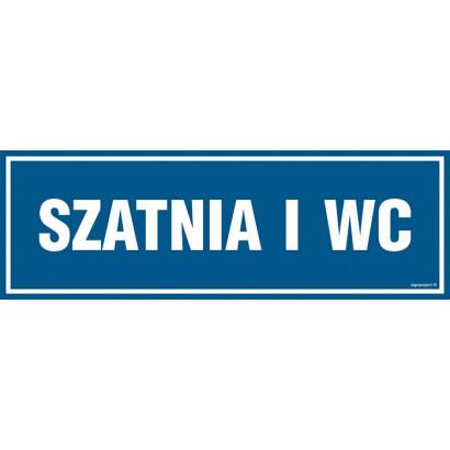 Znak - Szatnia i WC PA303