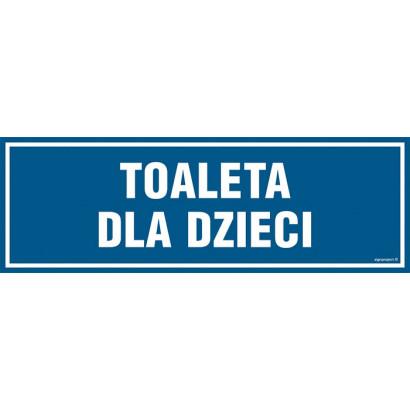 Znak - Toaleta dla dzieci PA313