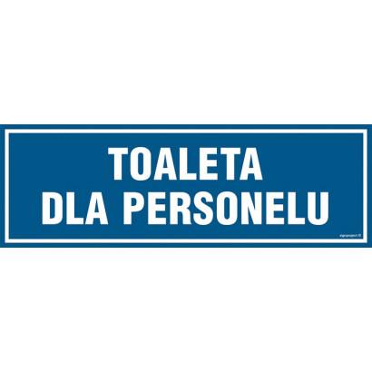 Toaleta dla personelu