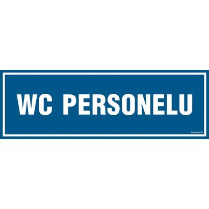 Znak - WC personelu PA319
