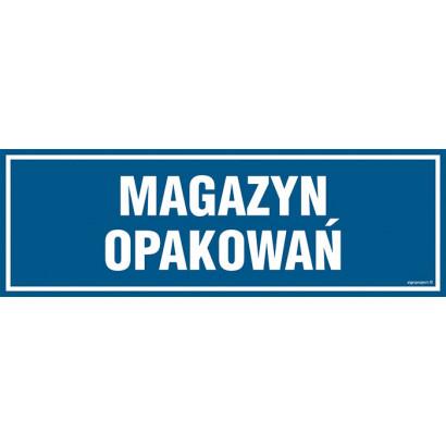 Magazyn opakowań