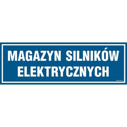 Magazyn silników elektrycznych