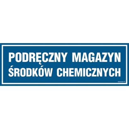Podręczny magazyn środków chemicznych