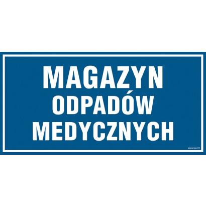 Znak - Magazyn odpadów medycznych PA522