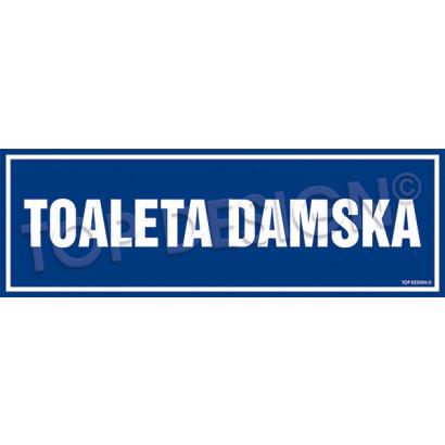 Znak - Toaleta damska PA695