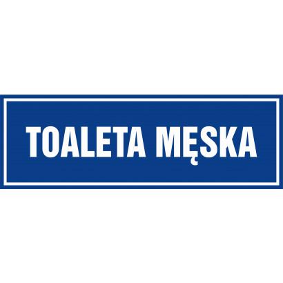 Znak - Toaleta męska PA697