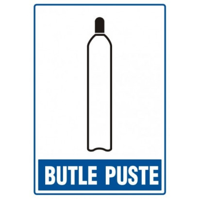 Znak - Butle puste JD004