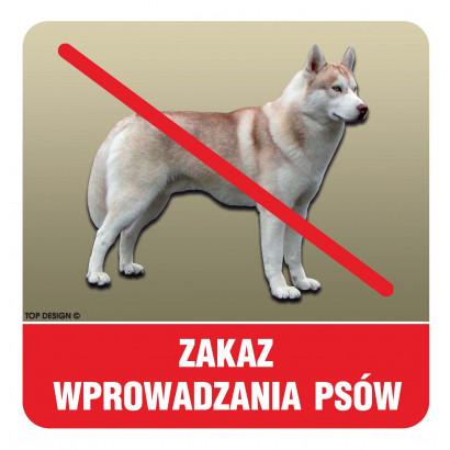 Zakaz wprowadzana psów (1)