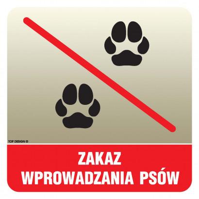 Zakaz wprowadzania psów (2)