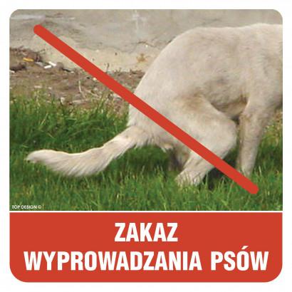 Zakaz wyprowadzania psów (2)