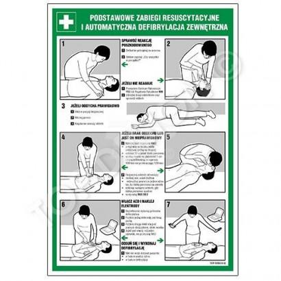 Podstawowe zabiegi resuscytacyjne i automatyczna defibrylacja zewnętrzna